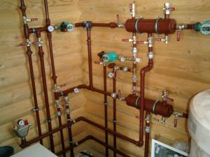 Отопление в деревянном доме, какие варианты?