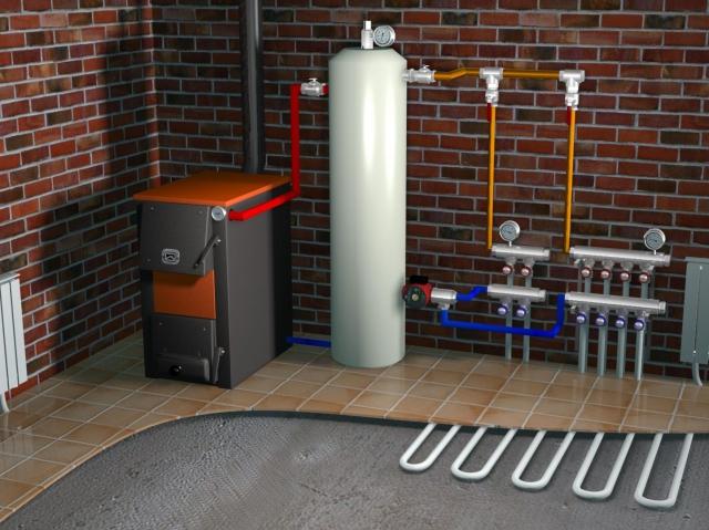 система отопления проект