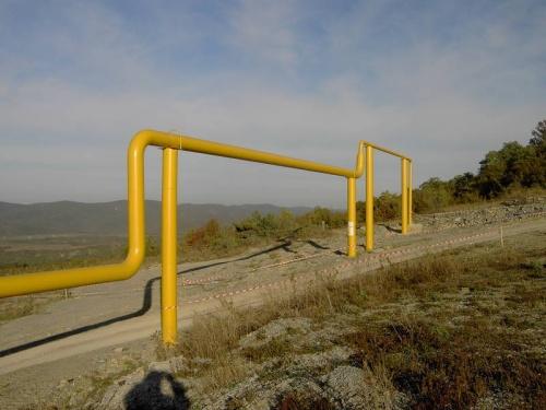 наземный газопровод