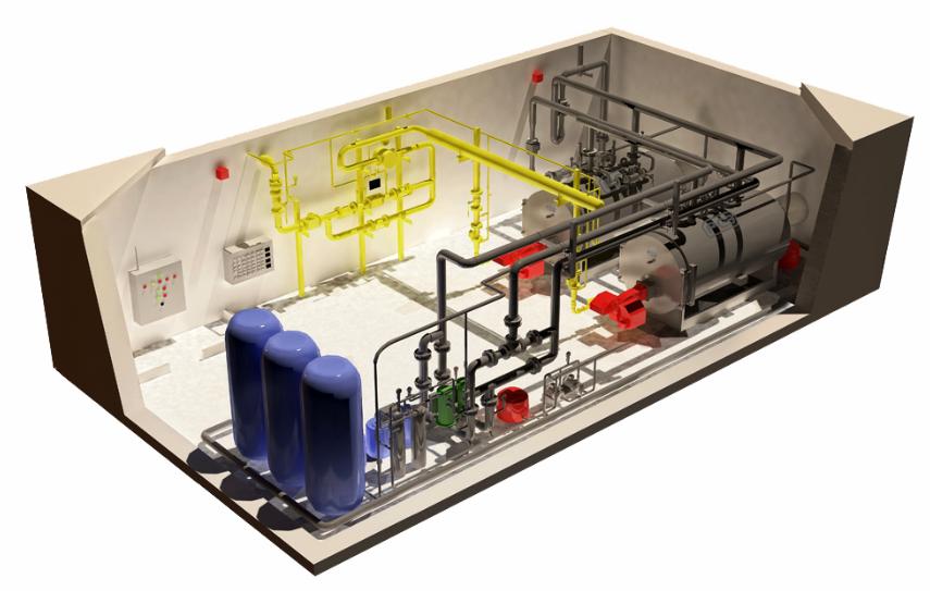 цэкспертиза блочной котельной с газом давлением меньше 0,02 мпа