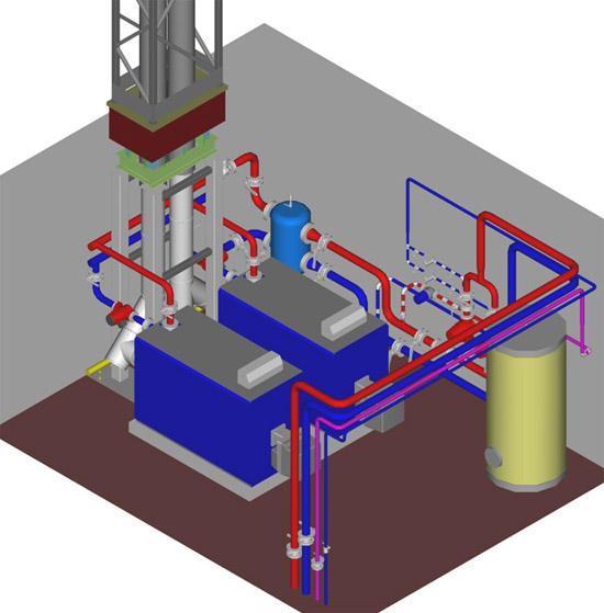 Основные требования к помещению для установки газового отопительного оборудования до 360 кВт