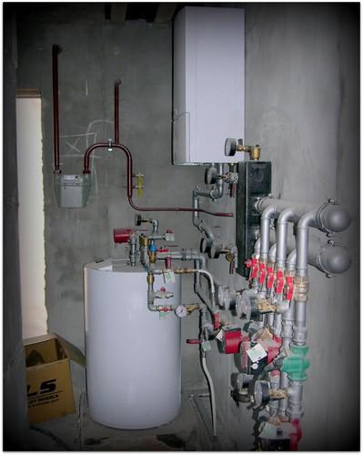 Монтаж отопления «под ключ»