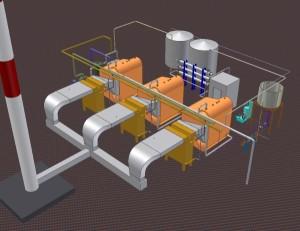 Проектирование промышленных котельных