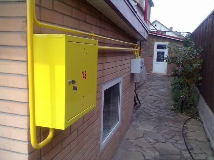Подключение газа к дому