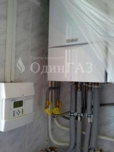 Подключение газового котла vailant