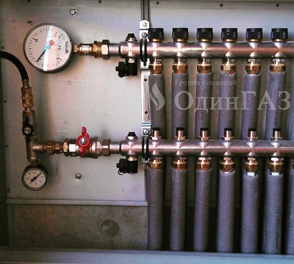 Разводка отопления