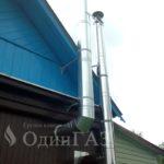 Дымоход и вент канал