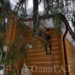 Подключение газа в деревянном доме