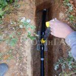 Прокладка газовой трубы